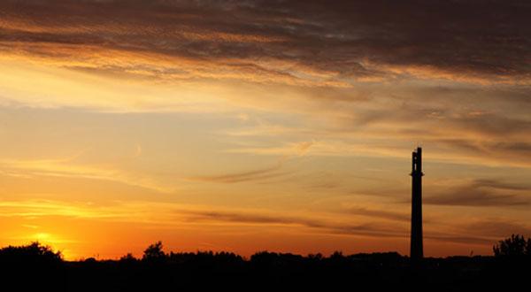 daventry northamptonshire sunset