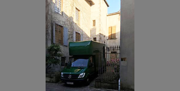Confolens City in Poitou-Charentes, France